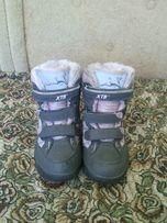 Полусапожки-ботинки зимние, р-35, сапожки