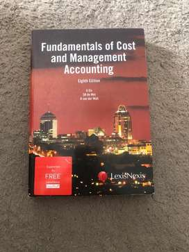 Fundamentals of Cost and Management Accounting 8th Edition