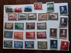 Various global and rare stamps