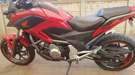 Honda nc700x very good condition to sell or swap for superbike