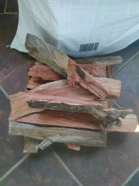Fire wood for braai and fireplace