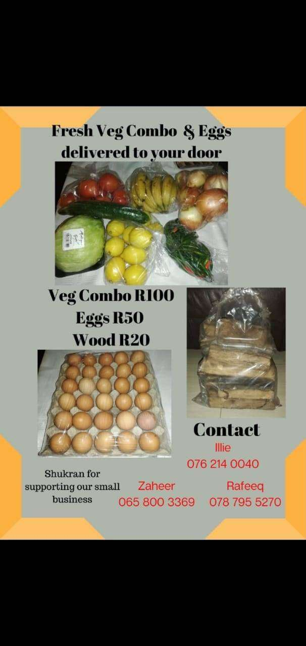 Fresh Fruit and Veg free delivery and Essential food Anytime, Any area 0