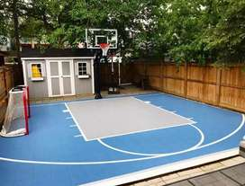 Tennis courts/ basketball courts