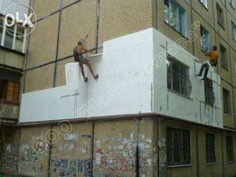 утепление домов,квартир,фасадов,балконов.Высотные работы.Скидки !!!