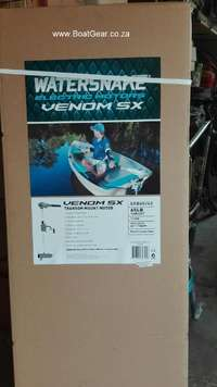 Jarvis Watersnake Venom 65lb electric trolling motor for sale  South Africa