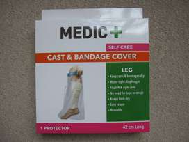 Crutches, Walker, Cast and Bandage Cover (PRICES as indicated below)