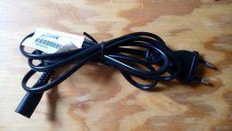 Kabel zasilający 2 pin ósemka 230V.