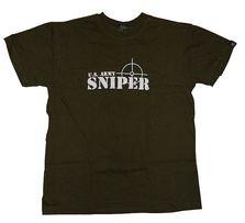 Koszulka militarna ASG - Snajper / Sniper