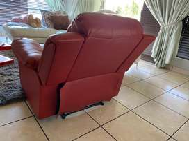 3 seater Couche and recliner