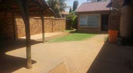 Townhouse Available  to RENT - 1 December  2020