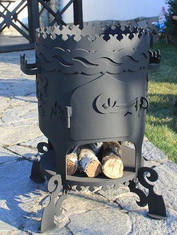 Печь под казан на дровах- печка для казана. Барбекю для дачи. Мангалы. Днепр - изображение 1