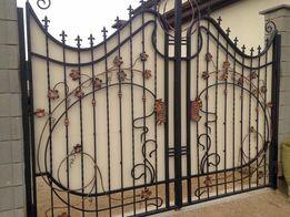 Недорогие Ворота въездные и гаражные, калитки,заборы,козырьки,лестн