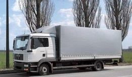 Грузоперевозки 5 - 10 тонн автомобилями Mersedes и MAN с гидробортом