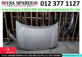 Jeep Compass 2.0/2.4 MK 2007-10 used bonnets for sale