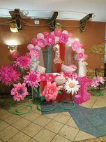Украшение декор цветы арка