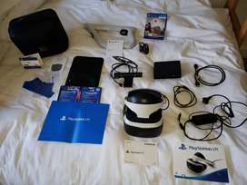 Playstation VR set with extra Carry case and Aim Controller