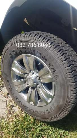 Toyota hilux  fortuner wheels