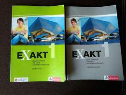 Exakt 1 podręcznik i ćwiczenia