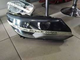 vw tiguan right headlamp\headlight