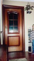 Drzwi 80 cm wewnetrzne pokojowe z futryną
