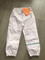 Мембранные штаны брюки h&m деми