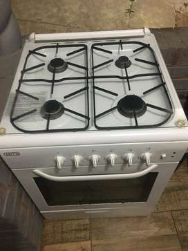 Gas stove and electric oven