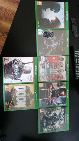 7 Xbox One games.