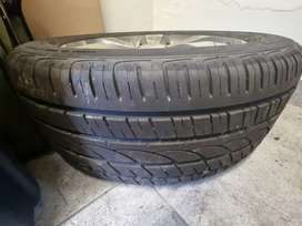 265/50R20 Windforce tyre AND rim