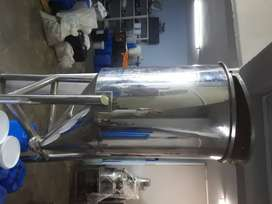500lt stainles steel thank