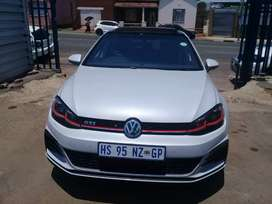 2019 Volkswagen Golf 7 2.7 GTI DSG with a Service book and sunroof