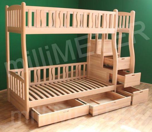двухъярусная кровать Лиана 2 (Ліжко двоповерхове) Черкассы - изображение 2
