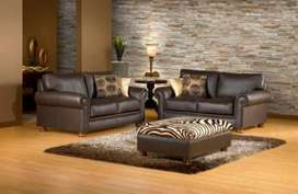 New Genuine leather couches
