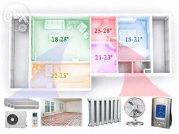Монтаж кондиціонерів та вентиляції