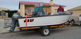 19.6 cape craft commercial fishing boat