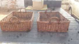 Utilitu baskets in  Rattan