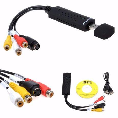 карта видео захвата конвертер из RCA(тюльпаны) в USB переходник, звук Кривой Рог - изображение 3