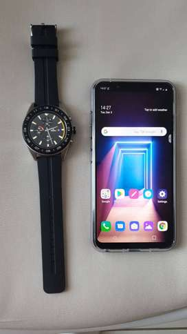 LG G8sThinQ Smartphone and LG W7 Smartwatch
