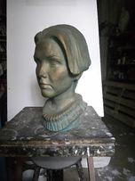 Портрет скульптурный на заказ (бюст, фигура, барельеф, )