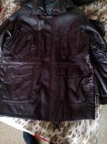 Мужские кожаные курточки