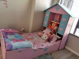 Princess Themed Single Bed