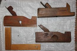 Набор инструментов столяра (рубанок)
