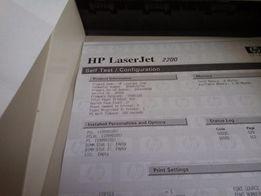 Принтер лазерный б/у HP Laser jet 2200 в состоянии нового