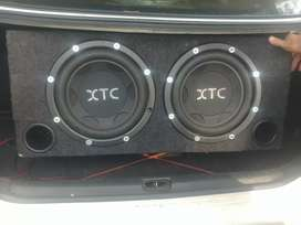 Sound for sale xtc subs and amp.