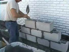 Cement building blocks