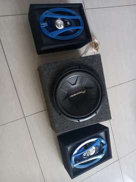 Subwoofer and 6x9