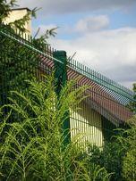 Słupki lakierowane do ogrodzenia panelowego