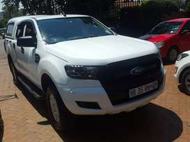 2017 FORD RANGER 3.2 6SPEED D/CAB  WITH CANOPY