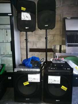 DJ & Entertainment Equipment(Sound system)