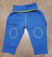 Śliczne ciepłe spodnie dresowe r. 68 5.10.15