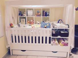 Superior baby cot/bed for sale
